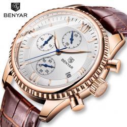 Benyar Lüks Erkek Kol Saati Multifonksiyon Zengin Tasarım Saat BN001
