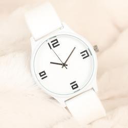Beyaz Silikon Bayan Saat BS1939-KS