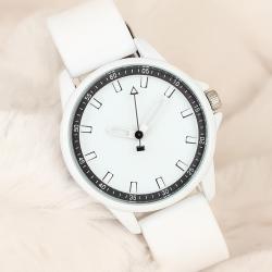 Beyaz Silikon Kordonlu Bayan Kol Saati Saat BS1964-KS