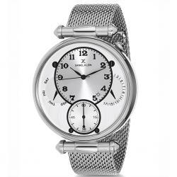 Daniel Klein Erkek Kol Saati Gümüş Hasır Çelik Saat DK772A