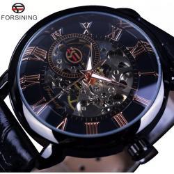 Forsining İskelet Kurmalı Erkek Kol Saati Mekanik Lüks Tasarım FS003