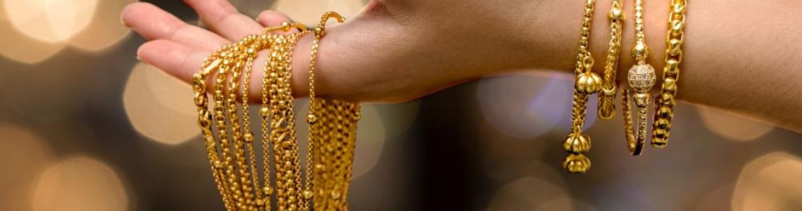 Altın Kaplama Bileklik