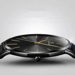 Kemanqi Ultra İnce Klasik Erkek Kol Saati Lüks Şık Tasarım Saat KQ002