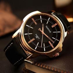 Lüks Tasarım Erkek Kol Saati Bileklik Hediyeli Sade Saat YZLA0A