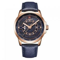 Naviforce Erkek Kol Saati Lacivert Gold Tasarım Şık Saat NF9151L