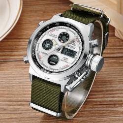 Ohsen Erkek Kol Saati Dijital Analog Işıklı Spor Tasarım Saat OHS99A