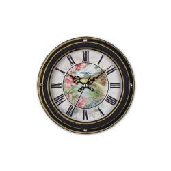 0066 B2  Vintage Tarzı Metal Kasa 22,5 Cm. Duvar Saati