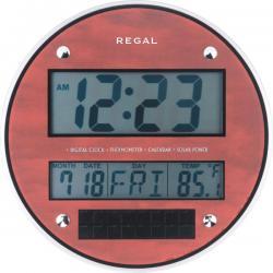 0215 R - Takvimli Dijital Duvar Saati