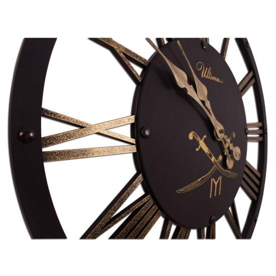 ULTIMA 2678 BG2 Kayı Tamgalı İskelet Duvar Saati