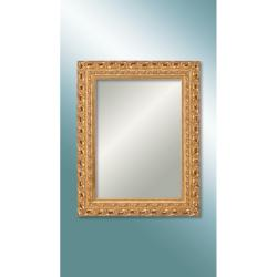 M 1624 G 7090 Ultıma Beyaz Oymalı Ahşap Büyük Ebat Ayna