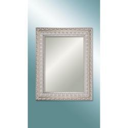 M 1634 W 7090 Ultıma Beyaz Oymalı Ahşap Ayna