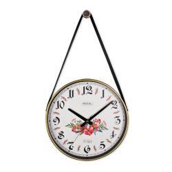 REGAL 0634 B3 Retro Kayışlı Küçük Boy Duvar Saati