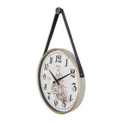 REGAL 0639 W3 Retro Kayışlı Büyük Boy Duvar Saati
