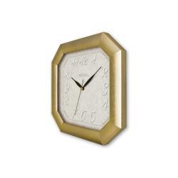 REGAL 150 G2 Altın Yaldız Sekizgen Ahşap Duvar Saatı