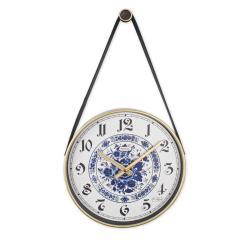 REGAL 0634 W5 Retro Kayışlı Küçük Boy Duvar Saati