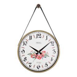 REGAL 0639 B3 Retro Kayışlı Büyük Boy Duvar Saati