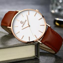 Kemanqi Erkek Kol Saati Lüks Zengin Tasarım Orjinal Saat Yeni KQ001