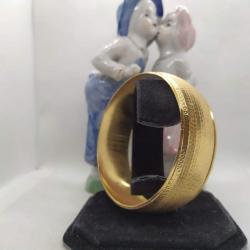 Altın Kaplama Desenli Bilezik - BL007