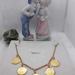 Altın Kaplama Lira Kolye - KL001