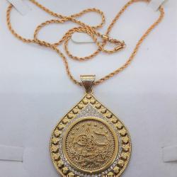 Altın Kaplama Kolye - KL002