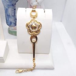 Altın Kaplama Lüks Bayan Bileklik - KL014