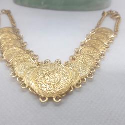 Altın Kaplama Lira Kolye - KL018