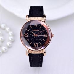 Sade ve Şık Bayan Kol Saati Lüks Tasarım Bileklik Hediyeli Saat GG001