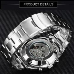 Sewor İskelet Tasarım Otomatik Erkek Kol Saati Lüks Orjinal Saat SW005