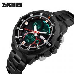 Skmei 1146 Erkek Kol Saati Dijital Işıklı Sağlam Asker Saati SKM1146