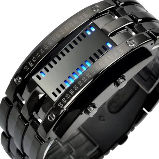 Skmei Led Tasarım Erkek Kol Saati Işıklı Saat SKM001