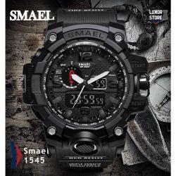 Smael Kamuflaj Su Geçirmez Sağlam Erkek Kol Saati Spor Tasarım SM0087