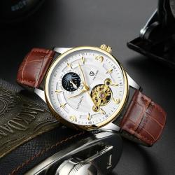 Tevise Otomatik Erkek Kol Saati Luxury Design Orginal Watch Yeni TE001