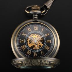 Winner Retro Kurmalı Köstekli Cep Saati Babalar Günü Hediye Saat WN022