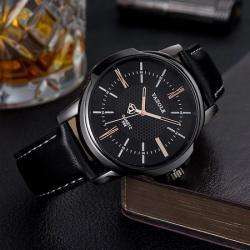 Yazole Erkek Kol Saati Lüks Siyah Tasarım Klasik Saat YZL2159