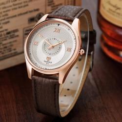 Yazole Rose Gold Erkek Kol Saati Klasik Şık Tasarım Saat YZL9599