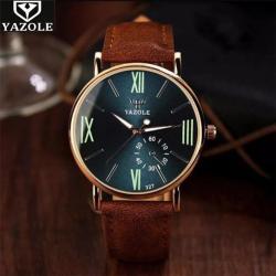 Yazole Sade Kibar Erkek Kol Saati Klasik Stil Tasarım Saat YZL77KLA