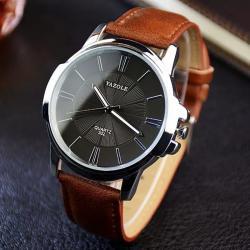 Yazole Şık Erkek Kol Saati Klasik Tasarım Gösterişli Saat YZL4455